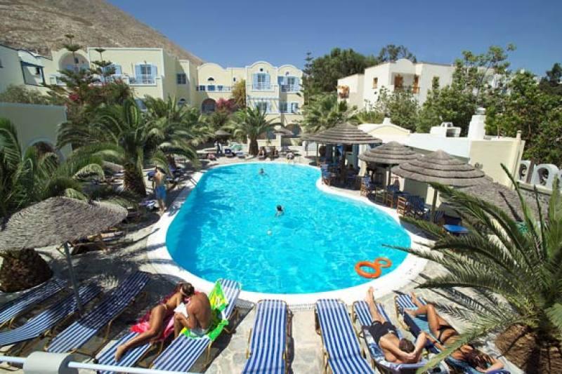Hotel Zephyros - Kamari - Santorini